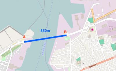 みなとトンネル850m