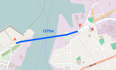 みなとタワー1275m